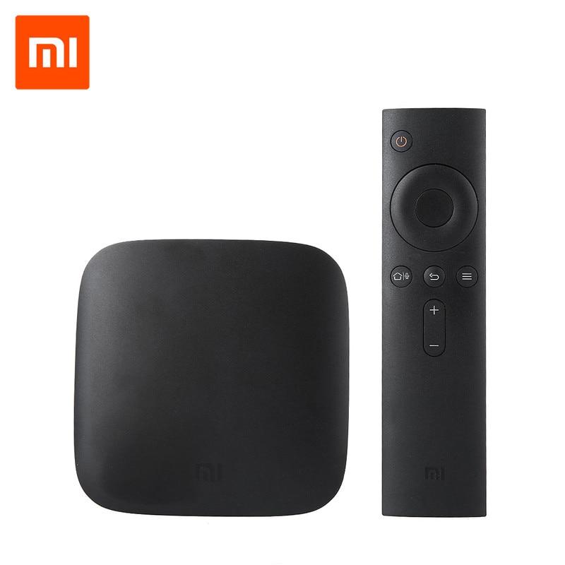 Original Xiaomi 3 TV BOX Amlogic S905 BT 4.1 Android 5.0 Dual Wifi 64-bit Quad Core Media Player 1GB 4GB Set-up Boxes 2016 new original xiaomi tv box 3 s pro amlogic s905 cortex a53 2 0ghz 1gb ddr3 4gb emmc5 0 android 5 0 4k 3840 x 2160