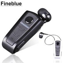 1PC Original Fineblue F910 Wireless Bluetooth Headphones Headset In Ear Vibrating Alert Wear Clip HandFree Earphones