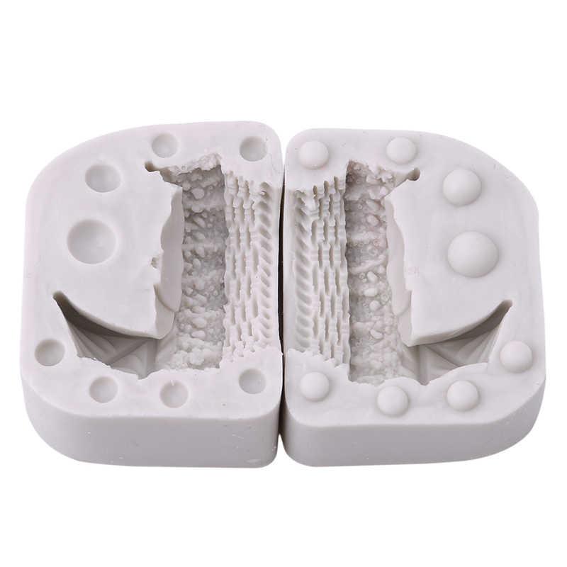 3D для маленьких кроватки люльки колыбели каретки автомобиля силиконовые формы для торта инструменты украшения форма для капкейков