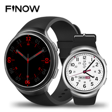 a0bba9dfb16 Finow X3 Mais MTK6580 K9 Dispositivos Wearable Relógio Inteligente android  Android 5.1 1 GB + 8 GB Quad Core Smartwatch Freqüênc.