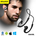 A885BL Wireless Bluetooth Headset CVC 6.0 Noise Reduction With Ear Hook MIC