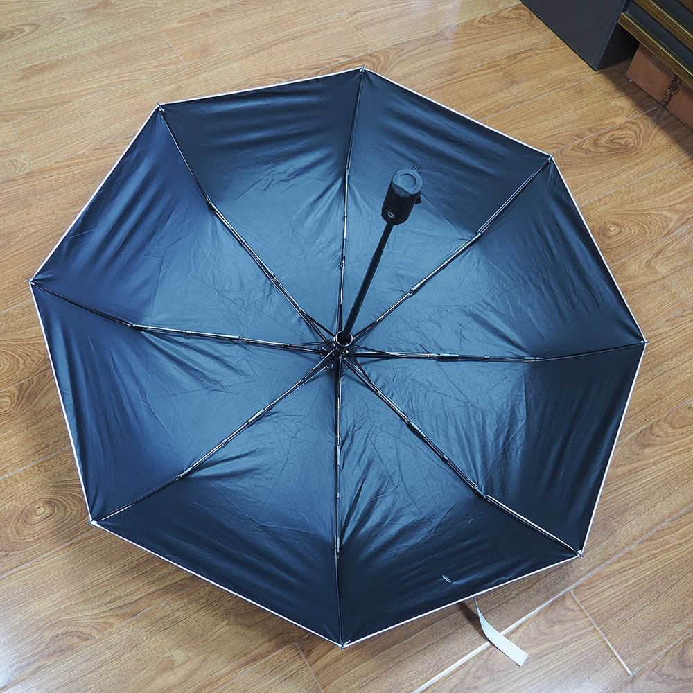 6c3d2ddffd8 ... Car Auto Umbrella Three Folding Umbrella Sun Rain Umbrella For Audi BMW  Mercedes AMG Ford Volvo ...