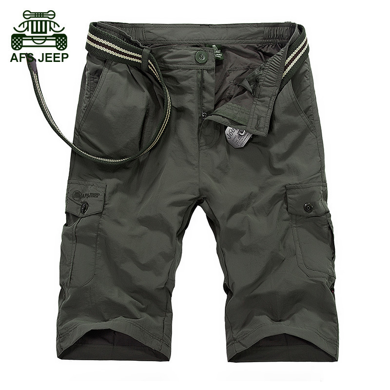 CLOTHES Summer New Quick-drying Shorts Men Breathable Men Shorts Army Color Short Homme  ...