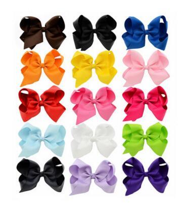 5PCS Fashion Baby Hair Claw Dot Bow Girls Headwear Set Hairpins/Hairbands/Elastic Hair Bands Hair Clips Kids Hair Accessor
