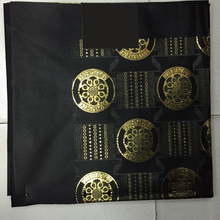 Quality Black Nigerian Sego Gele Headtie African Style Head tie 1*2 Yards Piece for women head wrapping LXLX-28-1