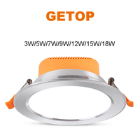 Modern Simple Ceiling Lamp Commercial Exhibition Hall Ceiling Light Embedded Lamp Living Room 3 5 7 9 12 15 18W Corridor Light