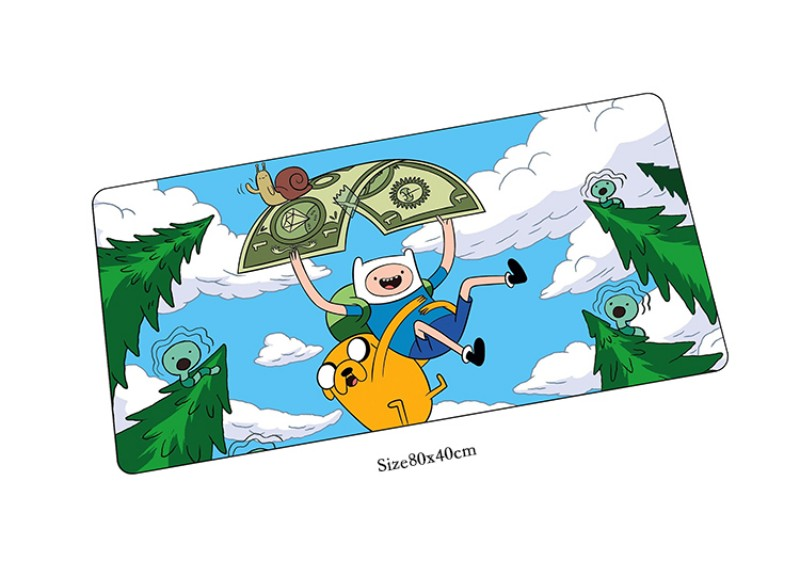 Adventure Time mouse pad locrkand pad to mouse notbook computer mousepad High-end gaming ...