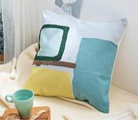 Embroidery Pillow Cover BOHO Cushion Cover 100% Cotton Wedding Pillow Cover Boho Home Decor, Custom Size&Color 45X45CM/40CMR