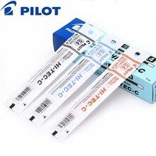 HI TEC C de recarga de cartucho de tinta de Gel Pilot BLS HC4, 12 piezas, 0,25mm, 0,3mm, 0,4mm, 0,5mm, Japón