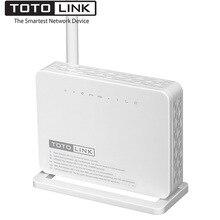 TOTOLINK ND150 150 Мбит/с Беспроводной ADSL 2/2 + Беспроводной Wifi модем-маршрутизатор, wi-Fi ретранслятор с 4 порта коммутатора в одном, Поддержка ADSL/WAN