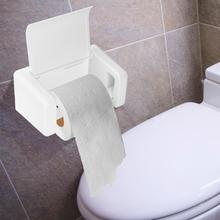 Wall-mounted Toilet Roll Paper Holder Tissue Rack Bathroom Hotel Office Roll Paper Wall Hanging Rack tissue boxes цена
