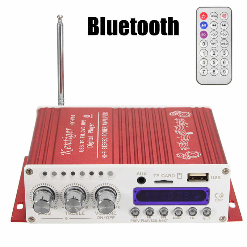BYGD NUOVO 12 v 5A Bluetooth Car Radio Auto Accessori Per Auto Digitale Mini HiFi Amplificatore Stereo Audio AMP Per Auto casa MP3 Lettore