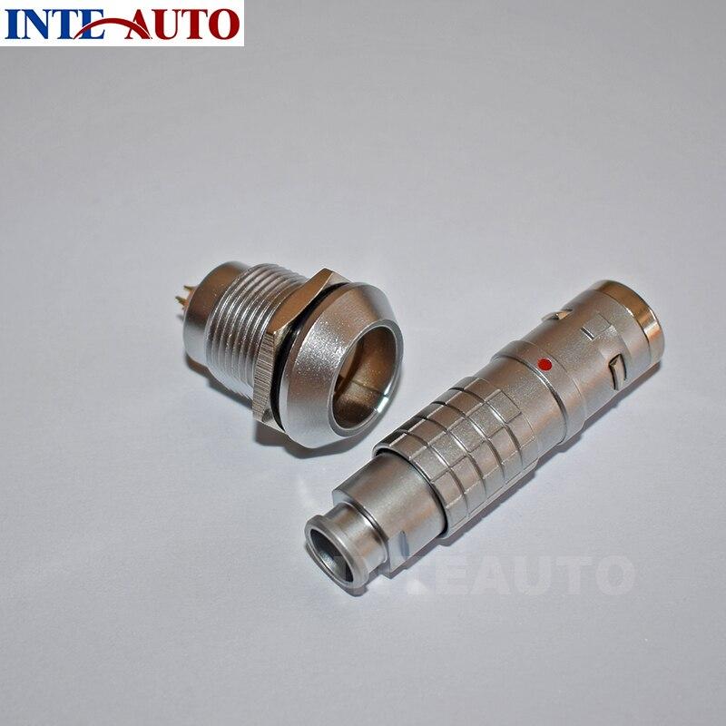 lemo 1K series connector, 7 pins waterproof cable plug and receptacle,cross FGG.1K.307 EEG.1K.307 1k черный