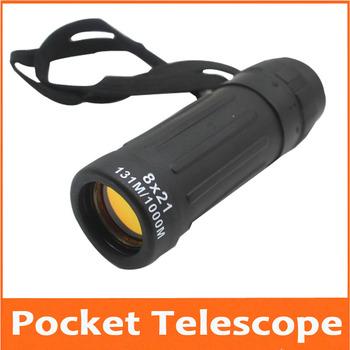 8X prezent urodzinowy gwiazda widza kieszeń edukacyjne teleskop zabawki monokularowy teleskop koncert 8 razy teleskop dla dzieci Student tanie i dobre opinie 8x21mm model1 SHANBAO Mikroskop Eyepieces NONE