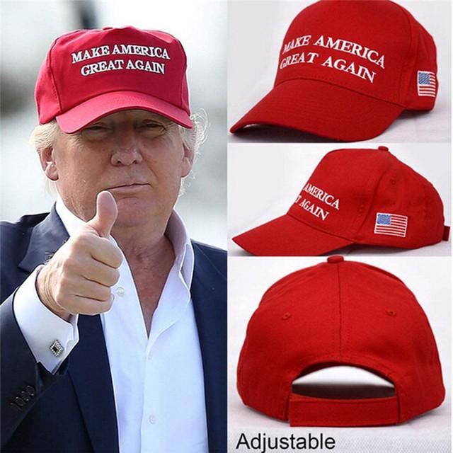 ccd6532b750 Make America Great Again Hat Donald Trump Cap GOP Republican Adjust ...