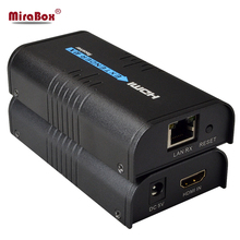 MiraBox HDMI Ethernet Extender Over IP/TCP/UTP/LAN/RJ45 Support 1080p 120m Like Splitter 1×8 HDMI Over Cat5/5e/6/LAN Extender