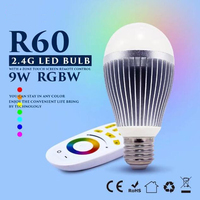 Mi Işık LED Ampul AC 220 V E27 Lamba 2.4G Kablosuz Wifi Kontrol smd 5730 Led Ampul 9 W RGBW RGBWW Nokta işık
