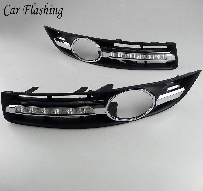 Car Flashing 2Pcs Car Fog Lights For Volkswagen VW Passat B6 2005 2006 2007 2008 2009