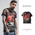 FORGIVENESS 2017 new men skull style t shirt men 's cotton short  sleeved T shirt metallica