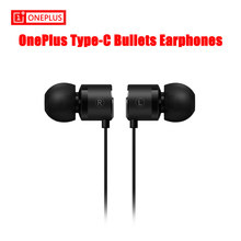 Original OnePlus Type-C Bullets Earphones OnePlus Bullets 2T In-Ear Headset With Remote Mic Oneplus 6T 7 pro 7pro Mobile Phone(China)
