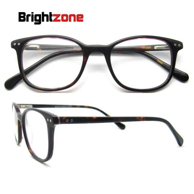 Nova Moda Armações Para Óculos Ópticos Mulheres Óculos de Armação Oval  Vermelho Com Dobradiça de Mola d1cf71bf1c