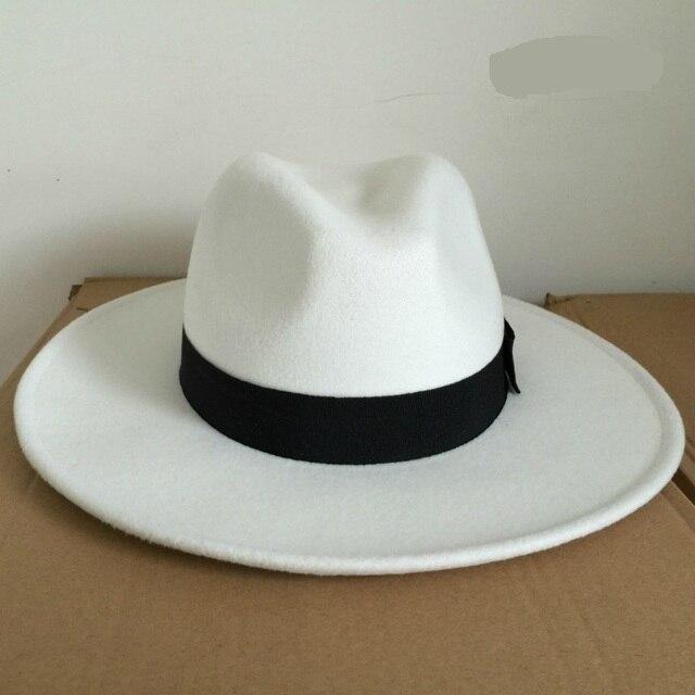 ea4aa35c03fac Michael Jackson Boy Cosplay Hats MJ Cos Child Children Accessories  Dangerous Smooth Criminal Woolen Hat White Black Colors