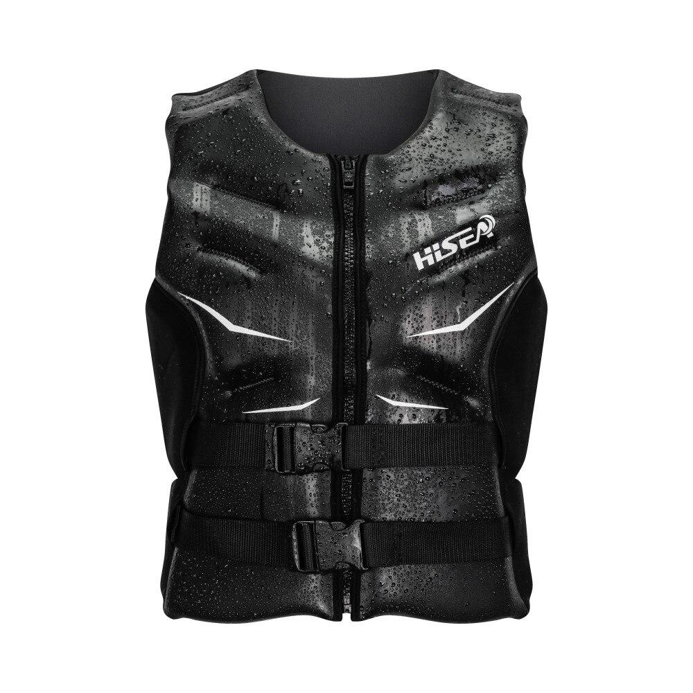 HISEA Oversized Buoyancy Windproof Fly Fishing glideskin Life Vest Clothing Vest Detachable Breathable Life jacket Aid