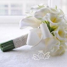 AYiCuthia настоящая желтая палочка для подружки невесты с изображением лилии, на память, мини-палочка для цветов, свадебный букет, S28