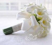 Ayicuthia реальные сенсорные желтый Калла Лилия палочка для подружки невесты для девочек в цветочек на память с мелким цветочным рисунком палоч...