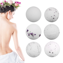 1pc Dried Flowers Bombs Ball Essential Oil Aromatherapy Bath Salt Ball