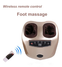 220V Electric Foot Massager foot relaxation Machine For Health Care Air Pressure Shiatsu Infrared Feet Massager With heat M004