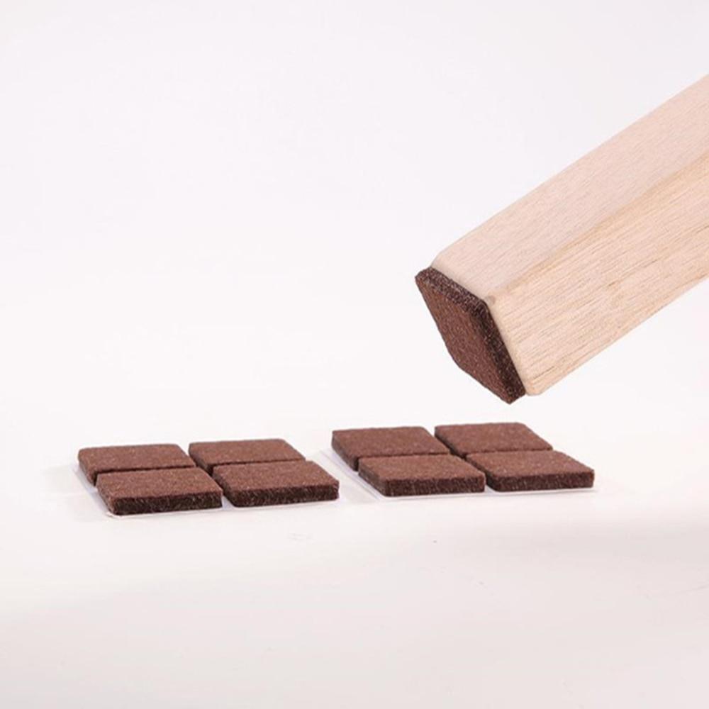 10pcs/set Felt Furniture Pads Furniture Feet Pads Hardwood Floors Protection