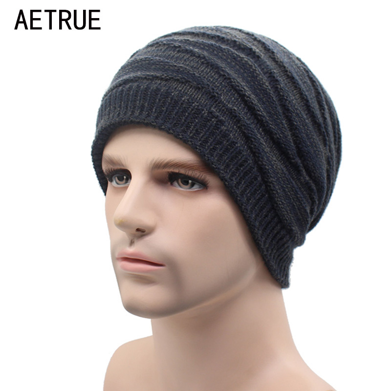 Winter Beanies Knitted Hats Warm Bonnet Caps Baggy Brand Solid Thicken Fur Soft Skull Women Winter Hats For Men Skullies Beanie hight quality winter beanies women plain warm soft beanie skull knit cap hats solid color hat for men knitted touca gorro caps