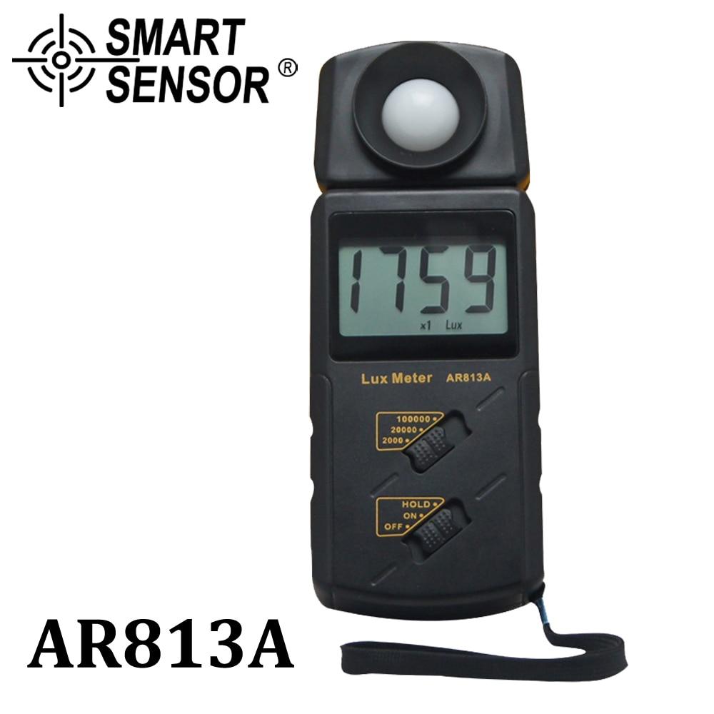 Digital Spectrometer Lux / FC Luxmeter Illuminometer Photometer Lux Meter Light Meter Luminometer 3 Range 100,000 Lux AR813A