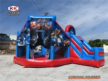 funny inflatable combo/ inflatable bouncer with slide for children