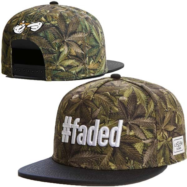 8daf1cbcf3e New Cayler  Sons  faded Snapback hats faded rollin Green blue maple leaf  desinger HipHop Mens Baseball Caps sun cap freeshipping
