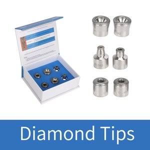6 Diamond Tips Skin Dermabrasi