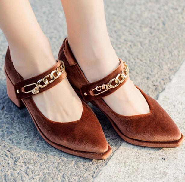 Zapatos marrones sexy para mujer 3erSgO