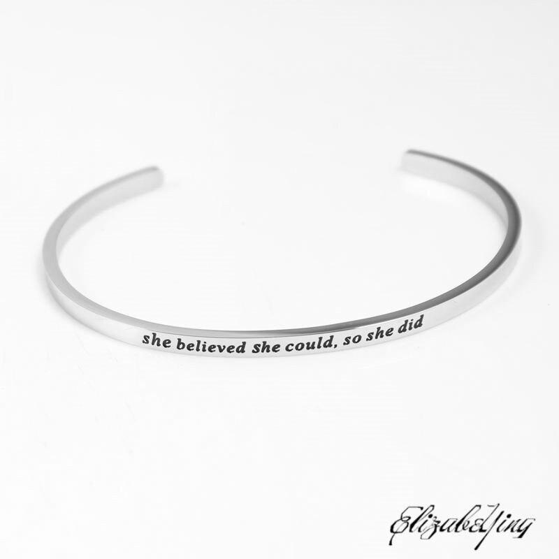 she believed (2)