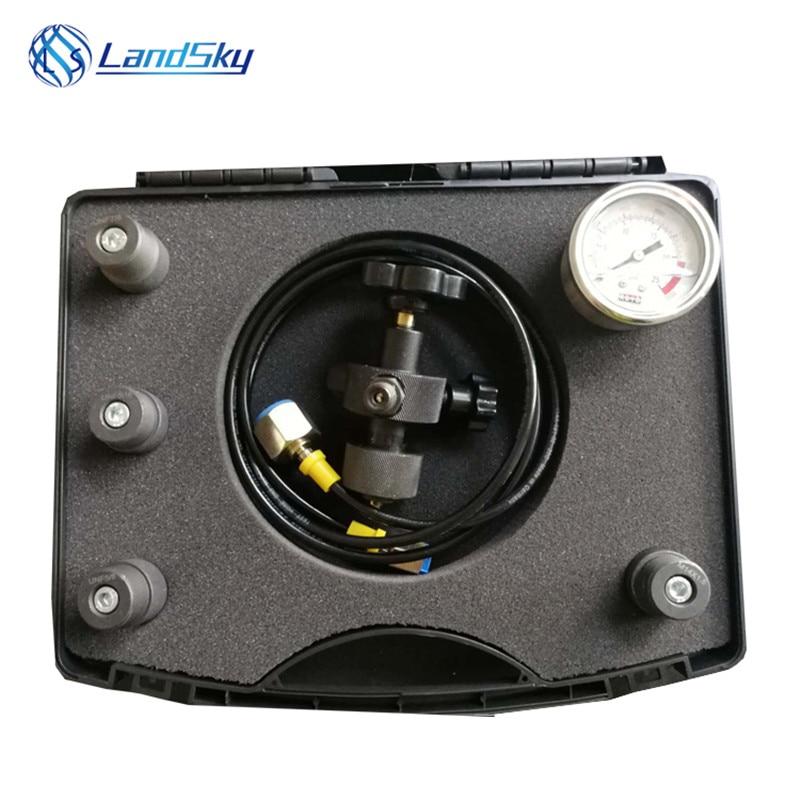 Hydraulic Hammer Charging Kit Nitrogen Pressure Test Kit Accumulator Precharge Pressure PFU-1 Inflatable Tool 5/16-32UNF 7/8UNF