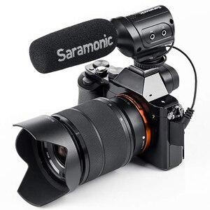 Image 3 - Saramonic Sr M3 Mini Directionele Condensator Microfoon Voor Nikon Canon Sony Dslr Camera S En Camcorders