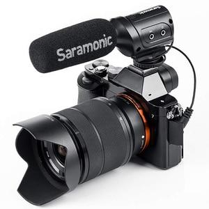 Image 3 - Saramonic Sr M3 Mini kierunkowy mikrofon kondensujący do aparatu Nikon Canon aparat sony dslr i kamery