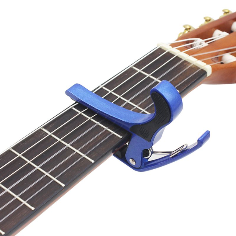 Low Price Hot Sale Guitar Professional Capo Newly Designed Stainless Steel Alloy Ukulele Acoustic Guitar Accessories H2