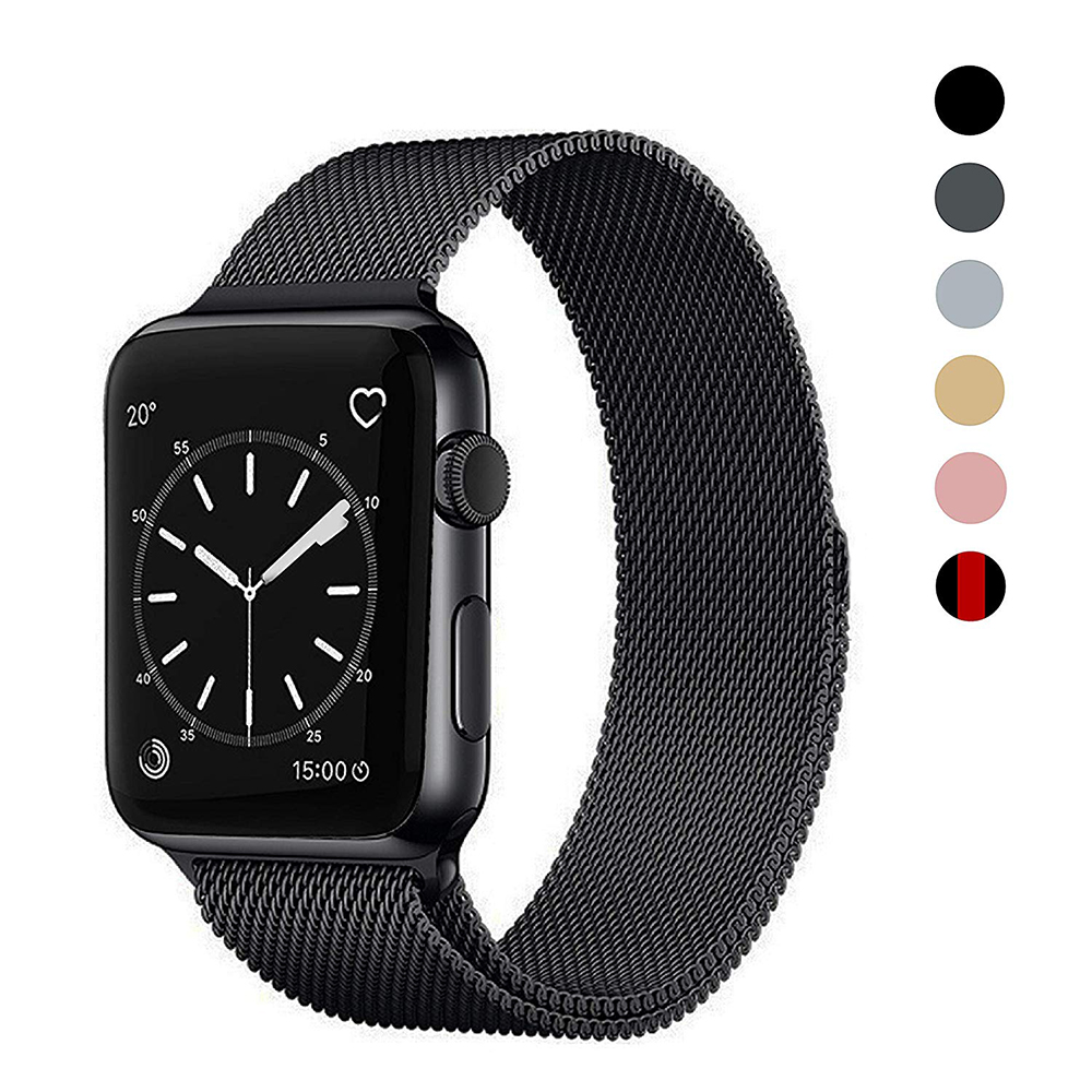 Milanese Loop Bracelet Stainless Steel Band For Apple Watch Series 1/2/3 42mm 38mm Strap Bracelet For Iwatch Series 4 40mm 44mm