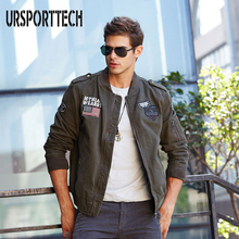Autumn Winter European And American Style Naseball Air Force Flight Jacket Trend Mens Uniforms Overalls Shirt Youth Large Size