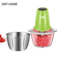 XMT HOME Electric meat grinder sausage burger ham meatball maker slicer kitchen gadgets fruit ginger garlic grater peeler