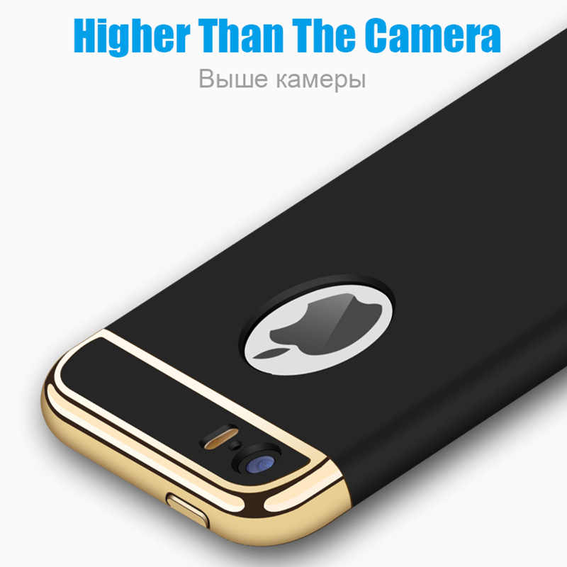 YAMIZOO 5s For iPhone se 5 Case 360 protection Phone Cases On Luxury Full Hard Plastic Coque Back Cover For iPhone 5s se 5 Case