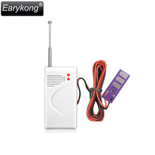 Big Promotion Wireless Water Detector For GSM Alarm System 433MHz Sensor Alarm It will alarm when touch water