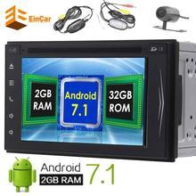 Wireless Camera Android 7 1 Octa core 2Din GPS Car Stereo Naviagtor Autoradio Bluetooth WIFI Radio