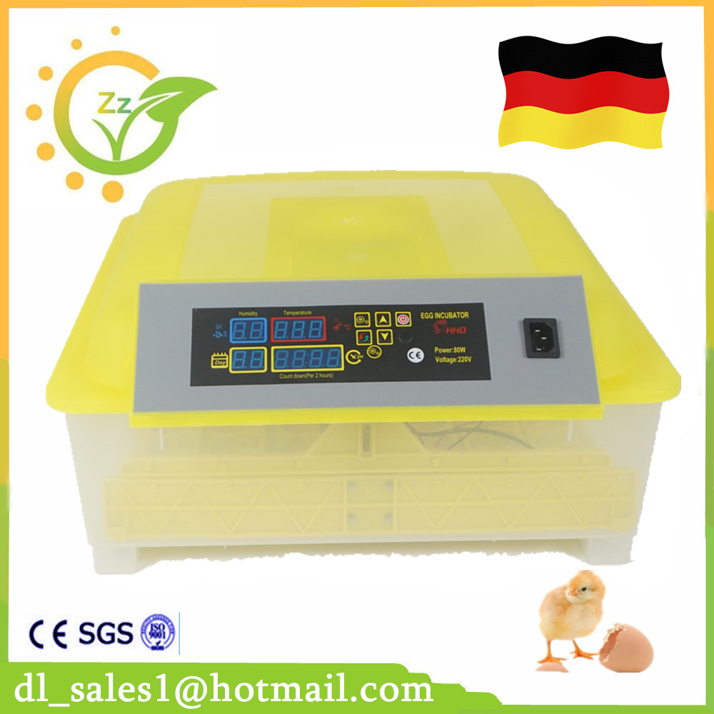New Automatic 48 Egg Incubator For Chicken Quail LED Display Turning Time Temperature Alarm hatchery machine Poultry Hatcher ce certificate poultry hatchery machines automatic egg turning 220v hatching incubators for sale